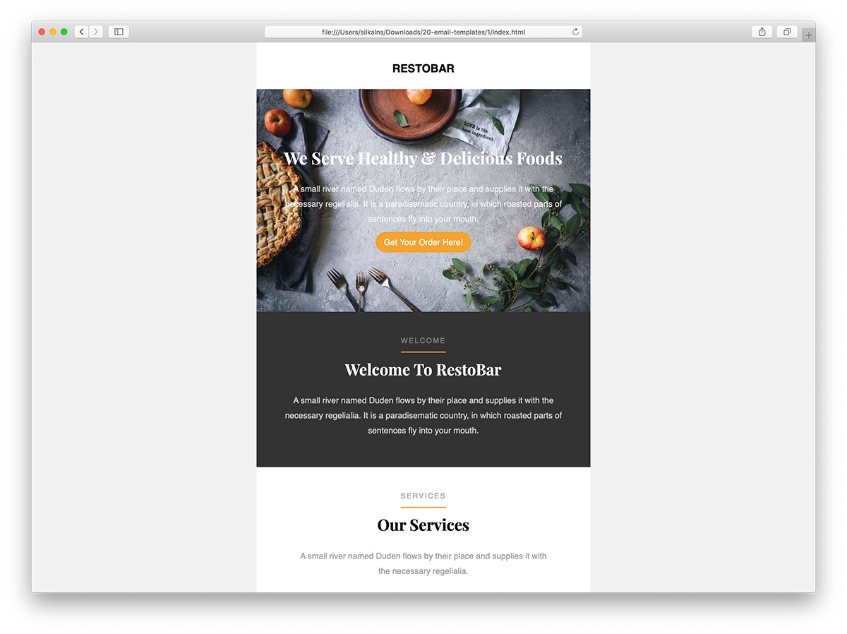 A template is something that establishes or serves as a pattern for reference. Top 35 Free Paid Mailchimp Email Templates 2021 Colorlib