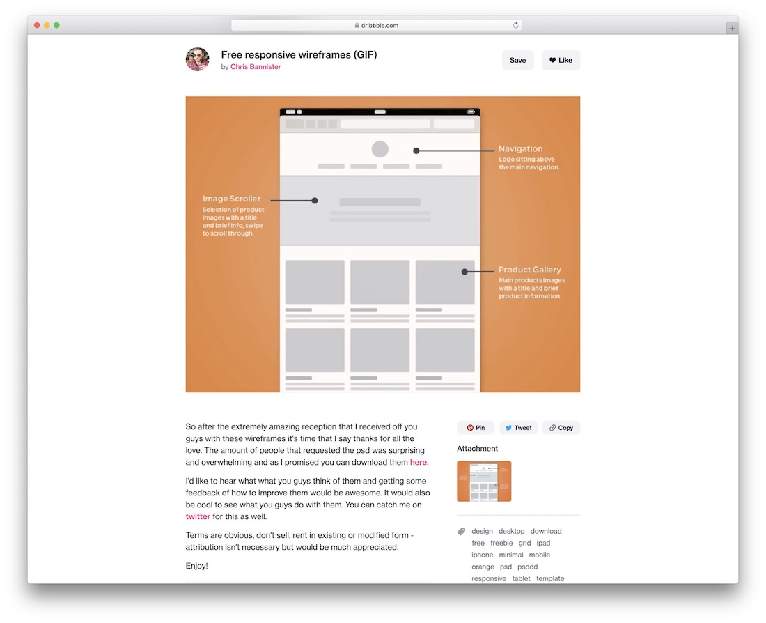 These wireframe templates are available in the desktop app with visio plan 2. Top 13 Free Web Page Wireframe Kits For Web Designers Developers Colorlib