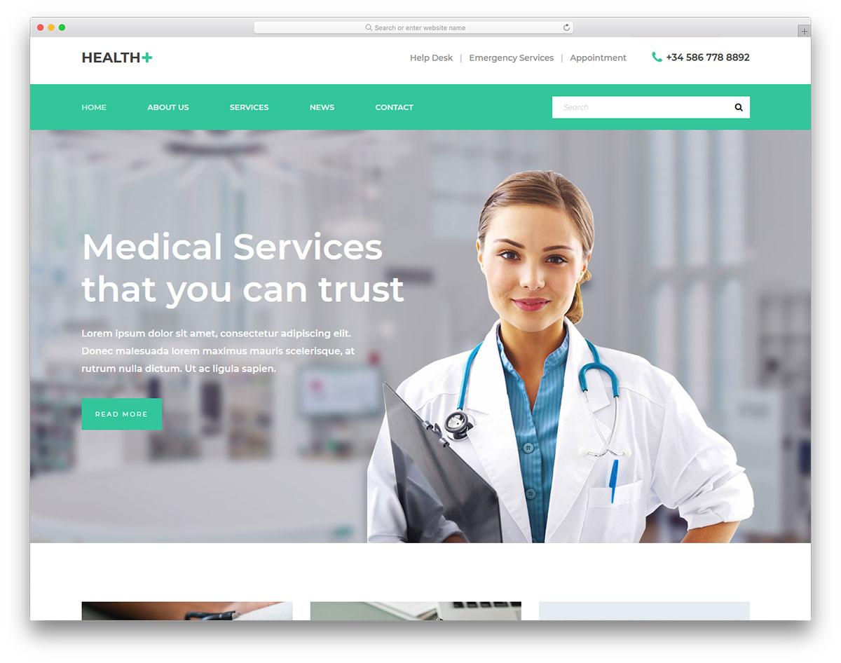 health template