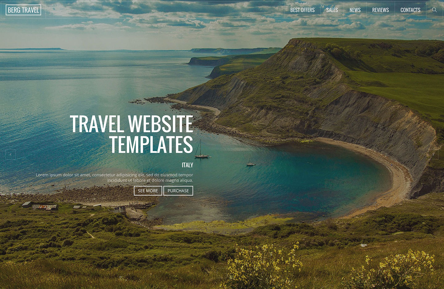22 Top Creative HTML5 Travel Website Templates 2019 Colorlib