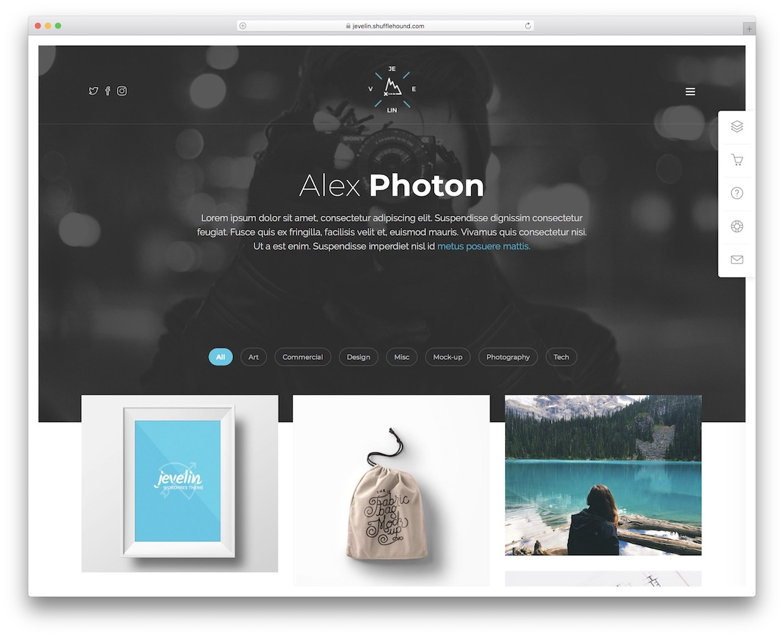 Whether you create a beautiful template, you get features suitable for a blog, an agency blog, an online store, personal portfolio, travel, real estate templates that you can export as html wordpress theme. 18 Best Modern Designer Website Templates 2021 Colorlib