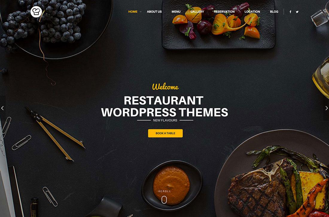 47 Best WordPress Restaurant Themes 2019 Colorlib