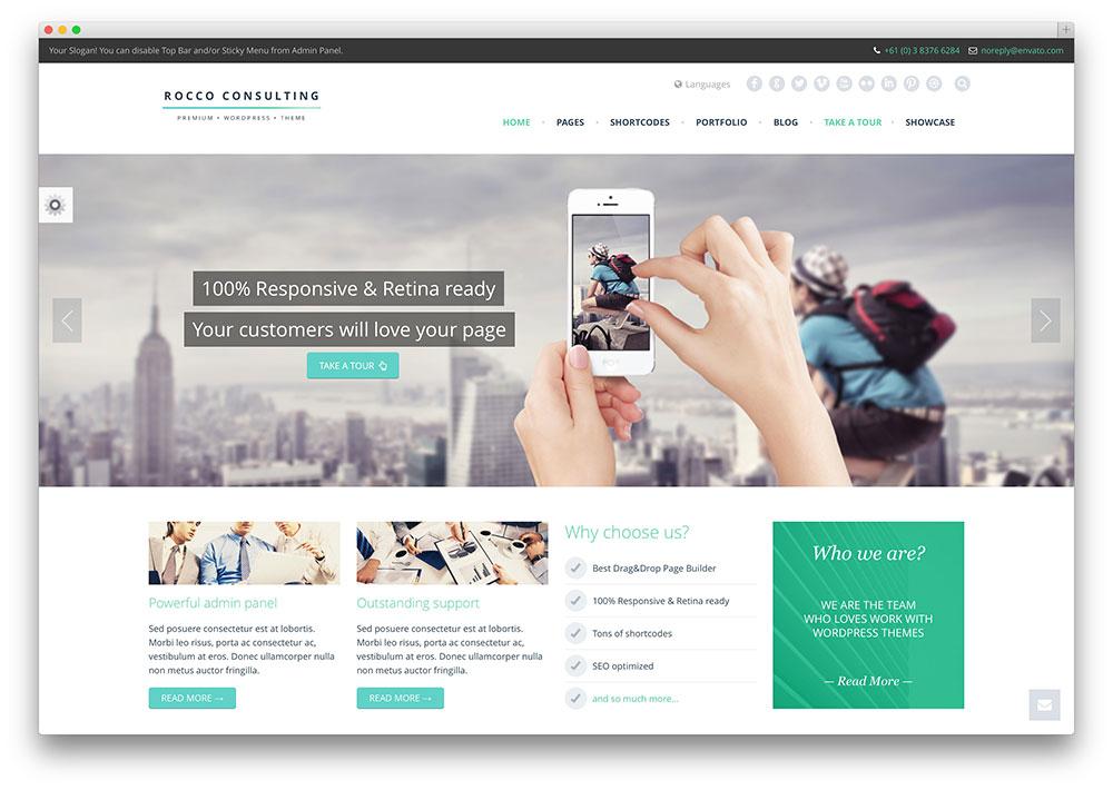 40 Awesome Flat Design WordPress Themes 2016  Colorlib