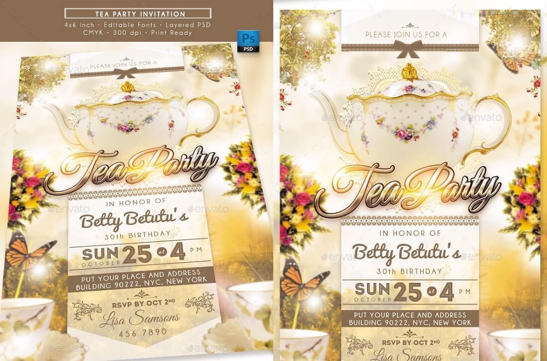 editable party invitation templates