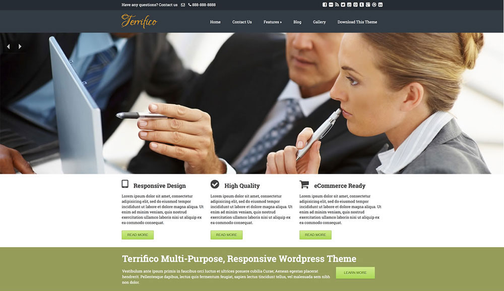 tema terrifico WordPress