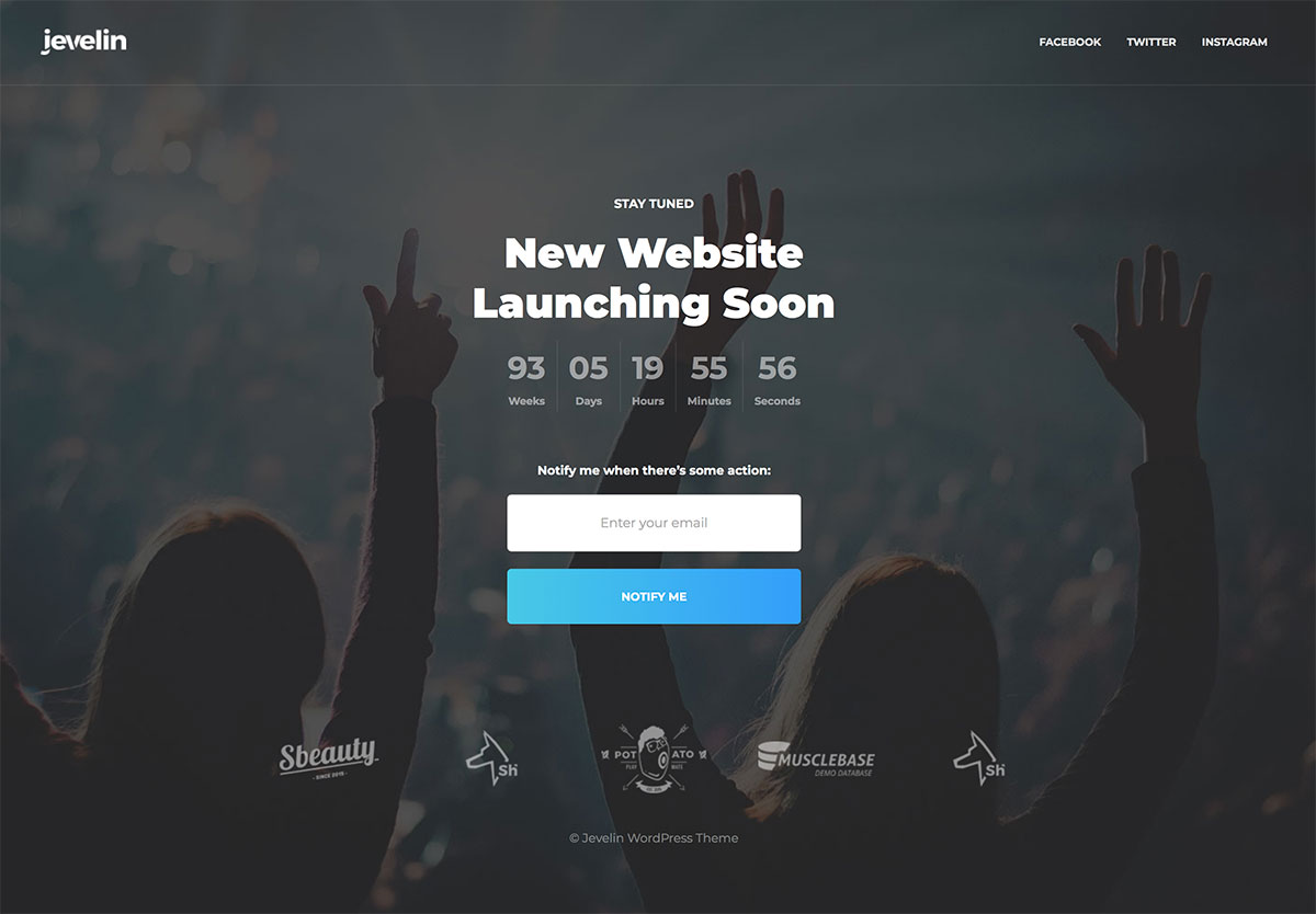 20 Free & Premium Coming Soon WordPress Themes & Plugins