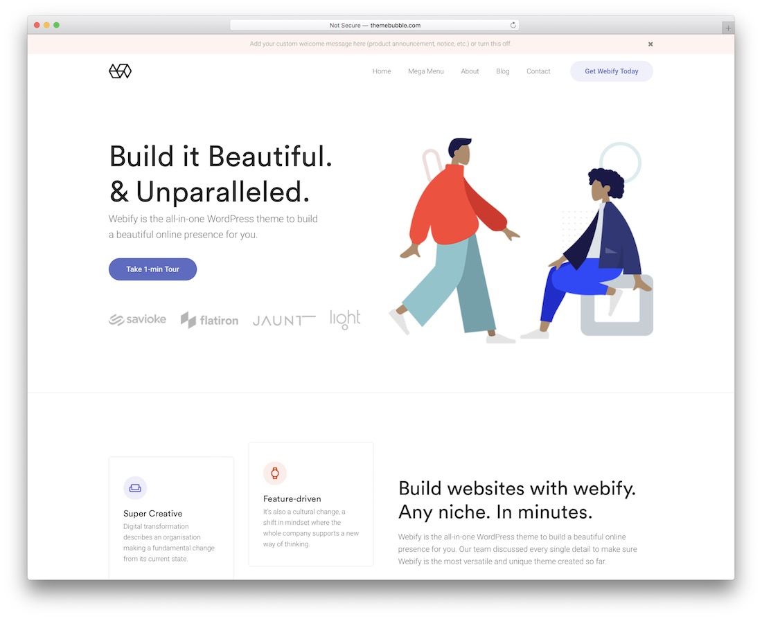 plantilla de sitio web bootstrap webify