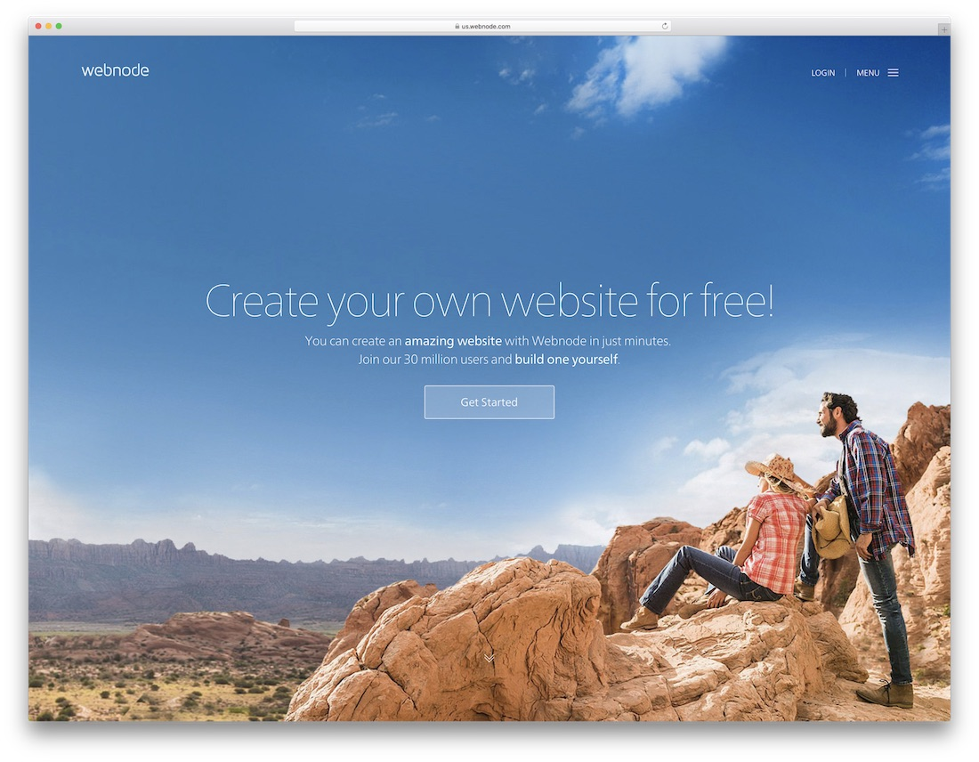 creador de sitios web de seguros webnode