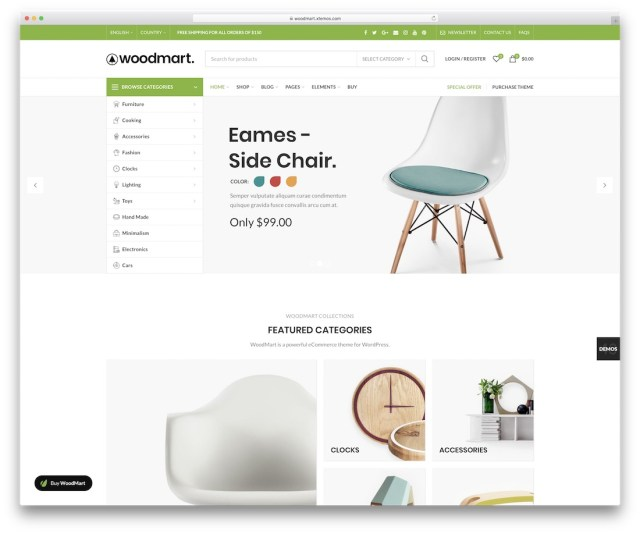 WoodMart WordPress eCommerce theme