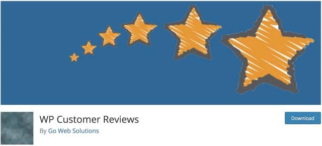 wp customer reviews wordpress plugin