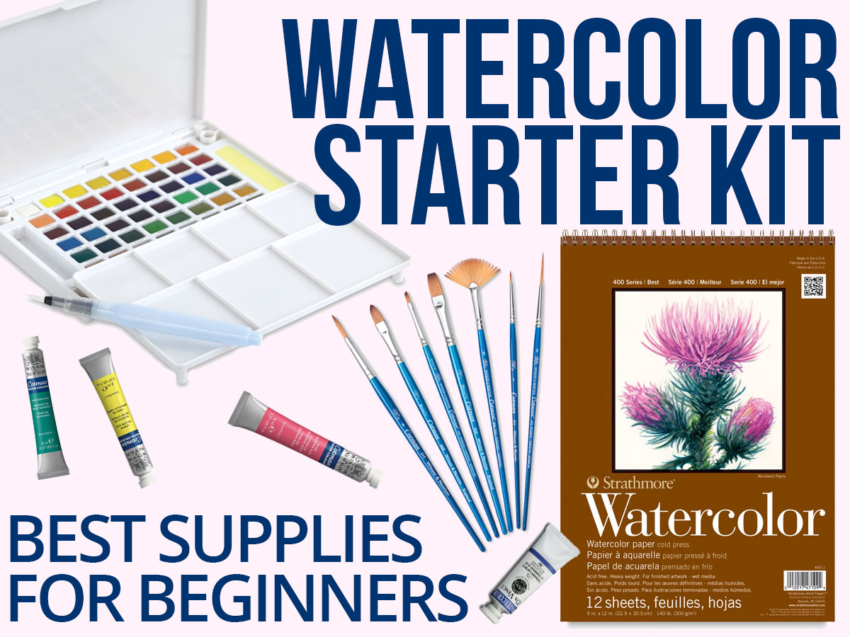 watercolor starter kit best watercolor art supplies for beginners