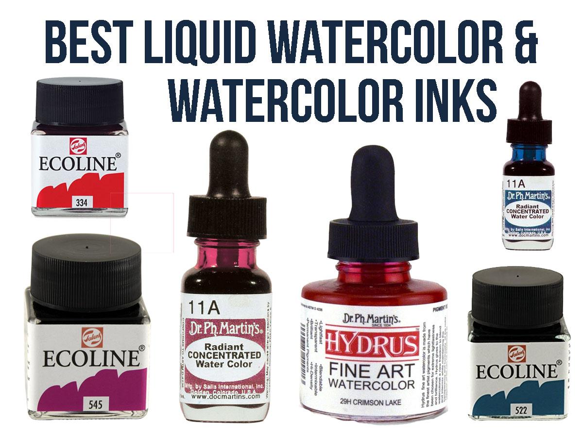 Best Watercolor Ink & Best Liquid Watercolor
