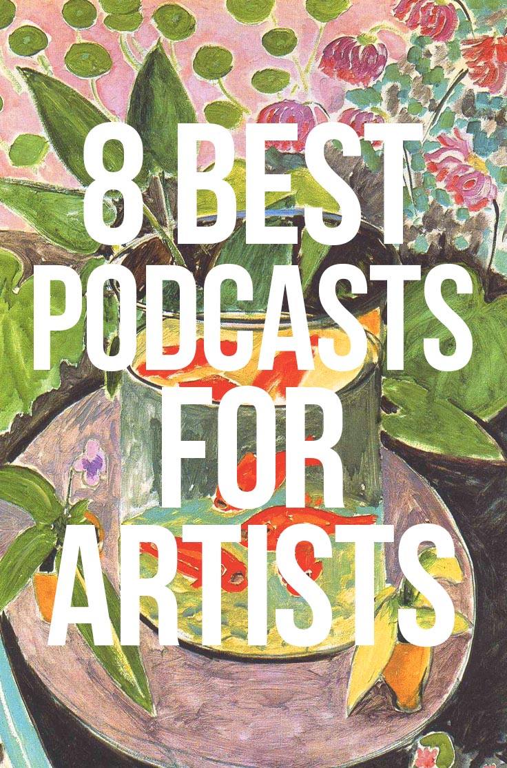 8 Best Podcasts for Artists