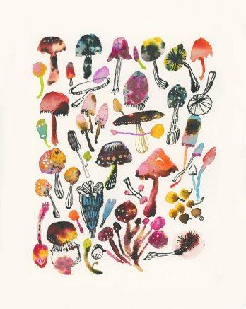 Carolyn Gavin: watercolor pigments