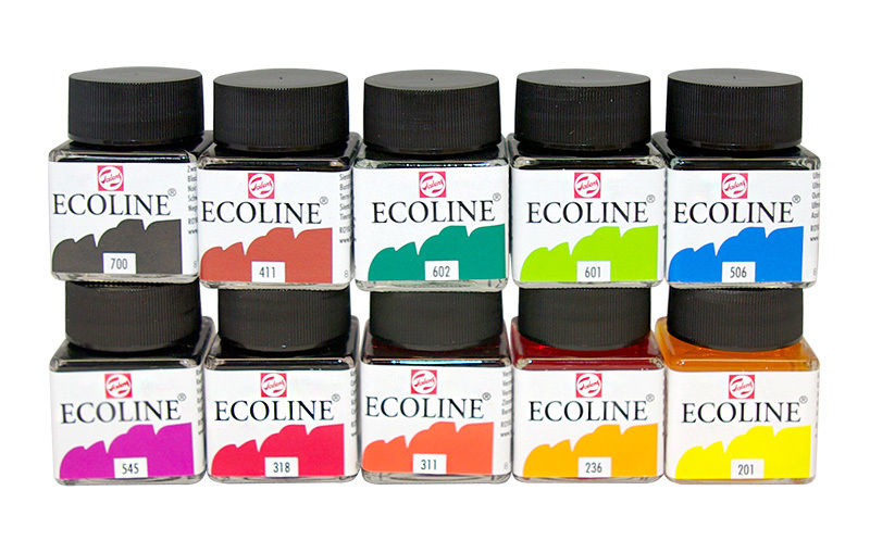 Best Watercolor Ink & Best Liquid Watercolor