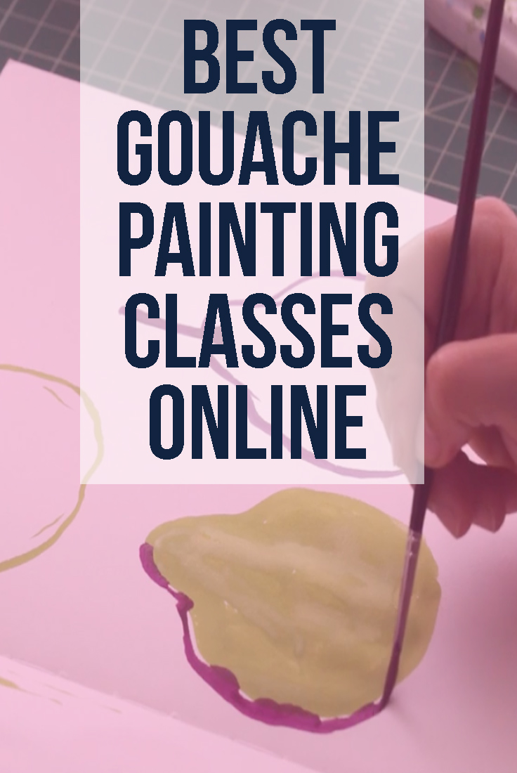 Best Online Gouache Classes: Gouache Painting Lessons for Beginners