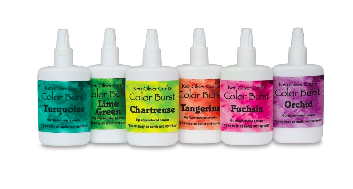 Watercolor Pigment Crystals: Brusho, Color Burst, Lindy's Magicals & more!: ken oliver color burst