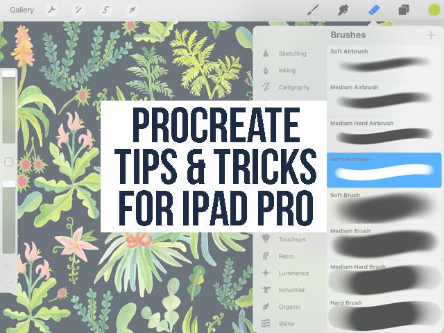 How to Use Procreate iPad Pro: Tips & Tricks for Using Procreate for iPad