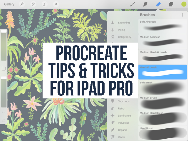 Procreate Tips & Tricks for iPad