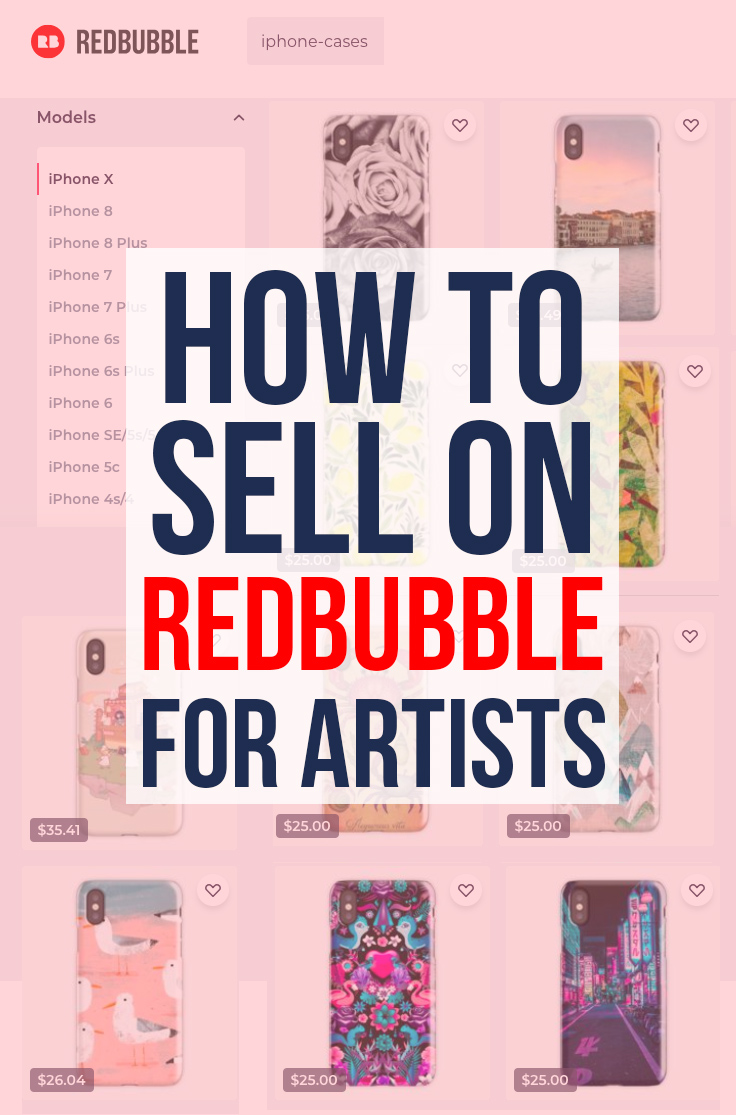 How to Sell on Redbubble: Step by step guide to how to be successful on Redbubble