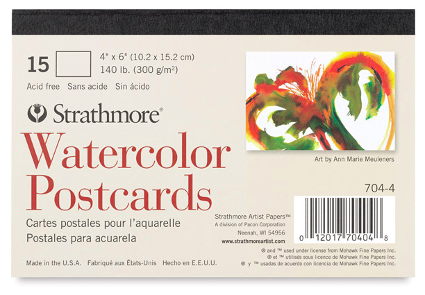 Best Watercolor Paper & Watercolor Sketchbooks for Artists & Beginners: Strathmore watercolor cards