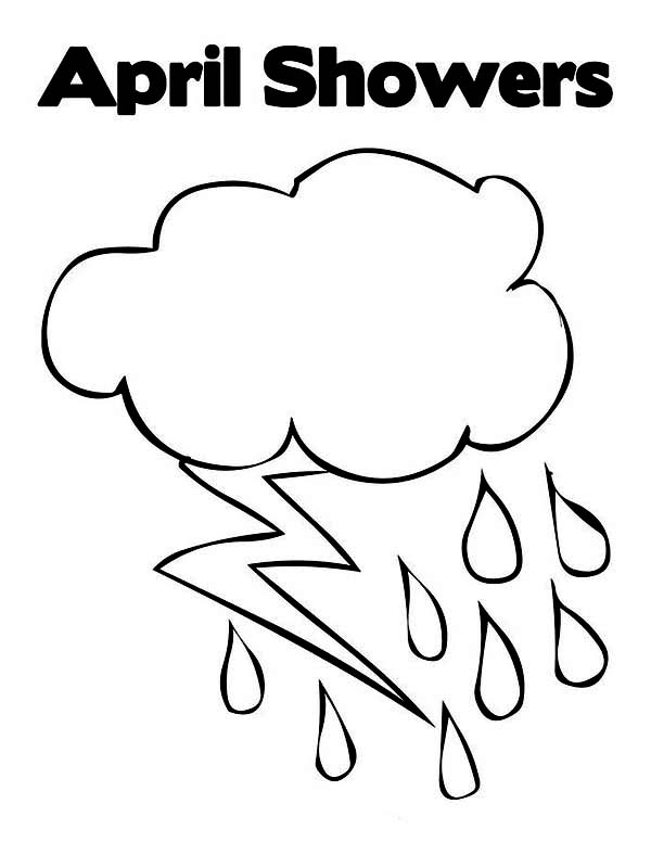 raindrop coloring page # 48
