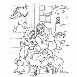 I Can Follow Jesus For Jesus Love Me Coloring Page : Color