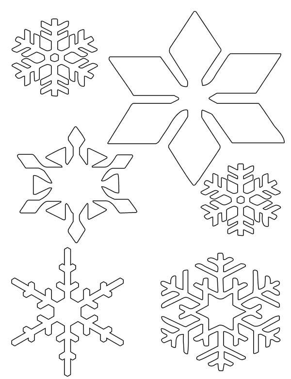 Snowflakes Wonder Coloring Page : Color Luna