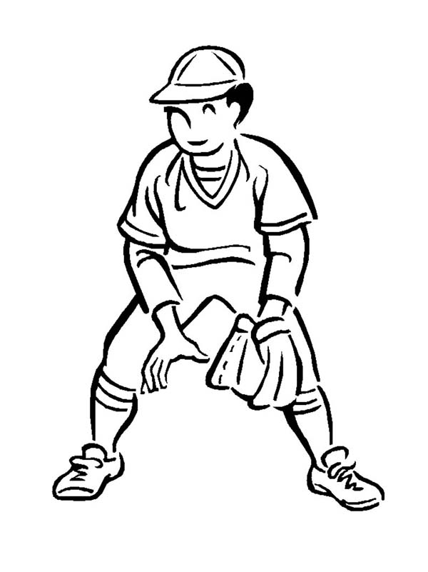 Great Short Player In MLB Coloring Page : Color Luna