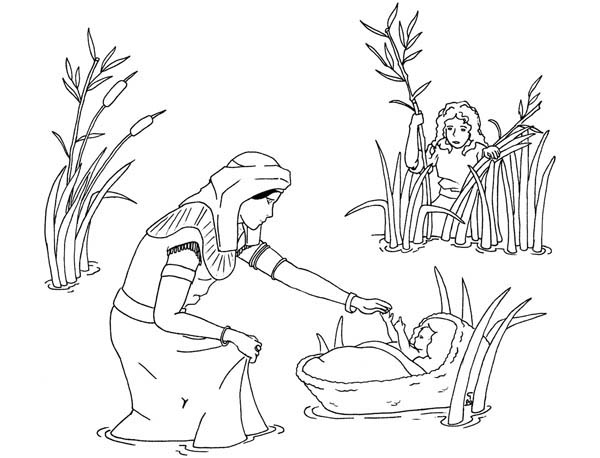 Moses Mother See Moses Was Found By Pharaoh Sister