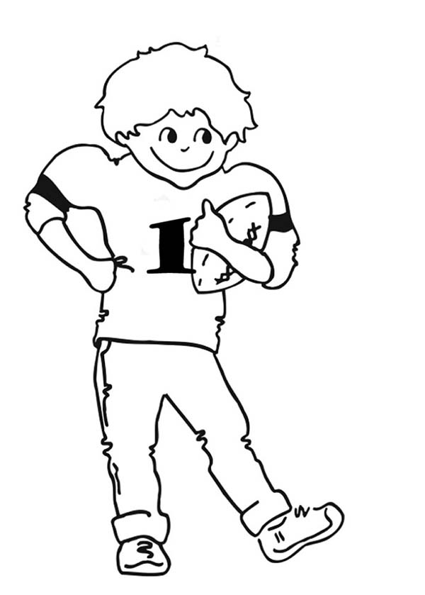 NFL Young Player Of The Year Coloring Page : Color Luna