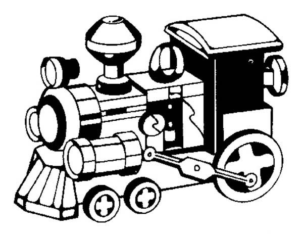 Picture Of Steam Train Coloring Page : Color Luna