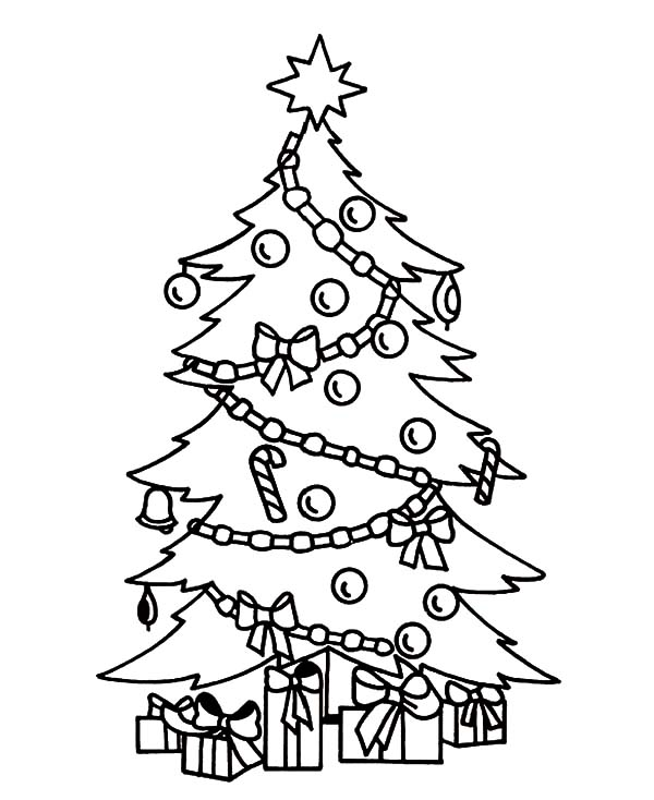 christmas tree printable coloring pages x9132 tree