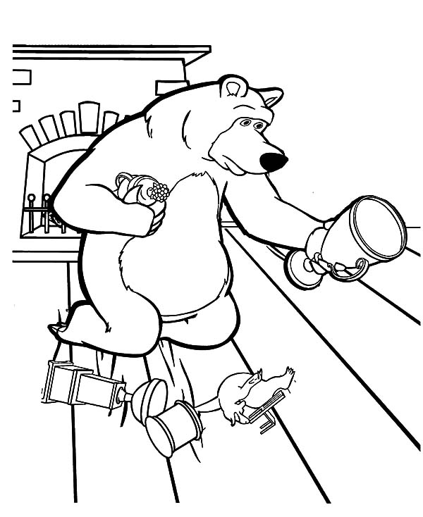 Free coloring pages of trophy