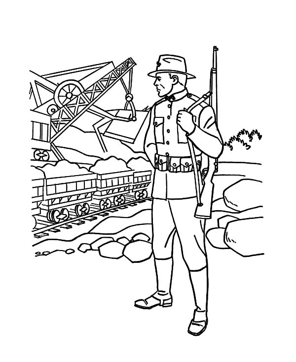 Army Sniper Pages Coloring Pages