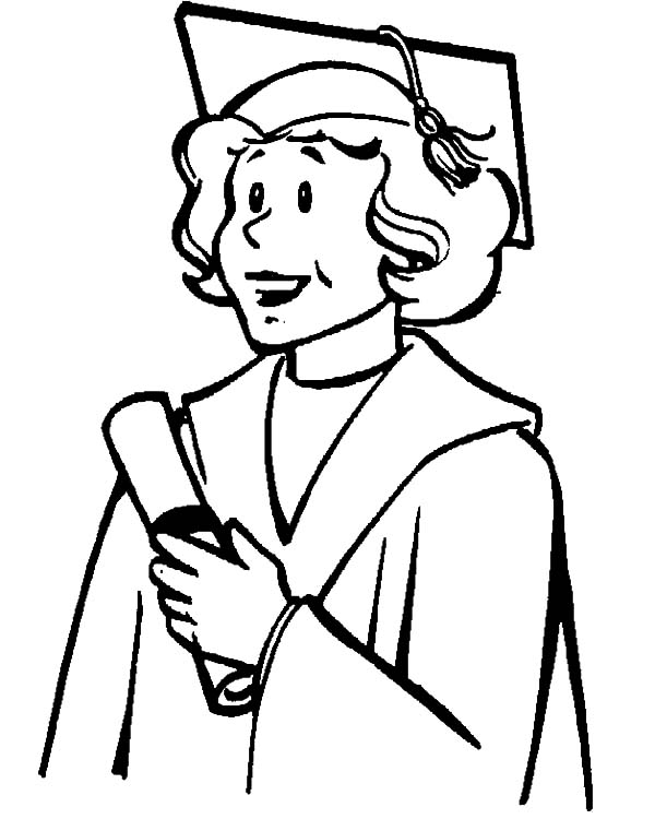 My Mother Graduation Day Coloring Pages : Color Luna