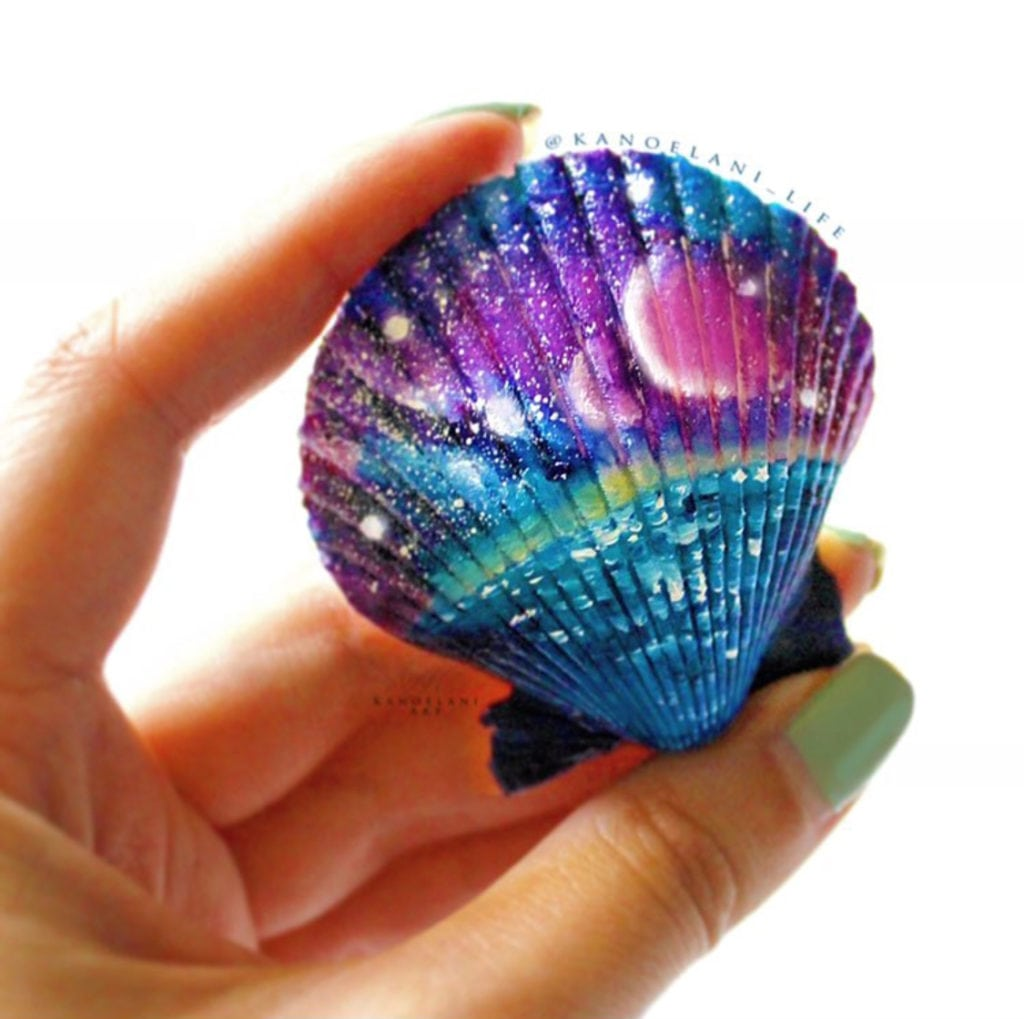 20 Painted Sea Shell Designs  Color Made Happy