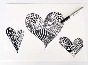 zentangle patterns children project fun