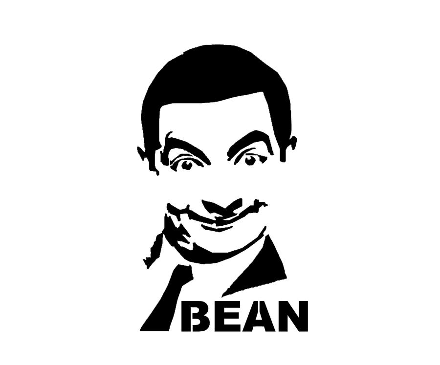 Stencil Mr Bean - Para... Al Pacino Impression