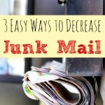 3 Easy Ways to Decrease Junk Mail