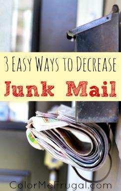 3 Easy Ways to Decrease Junk Mail