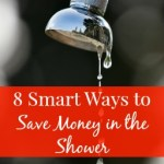 8 Ways to Save Money in the Shower