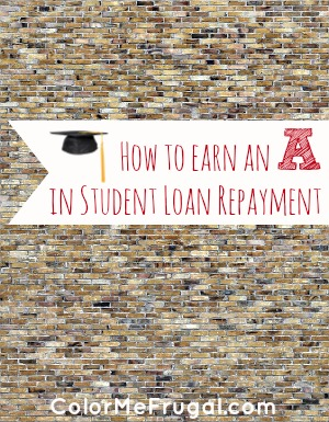 How to Earn an A in Student Loan Repayment Options
