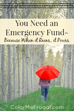 You Need an Emergency Fund