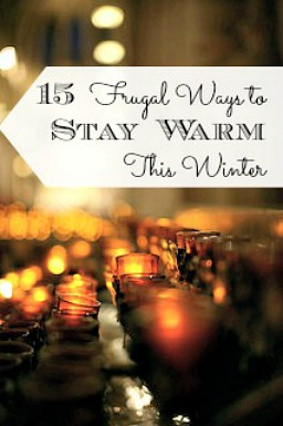 15 Frugal Ways to Stay Warm This Winter