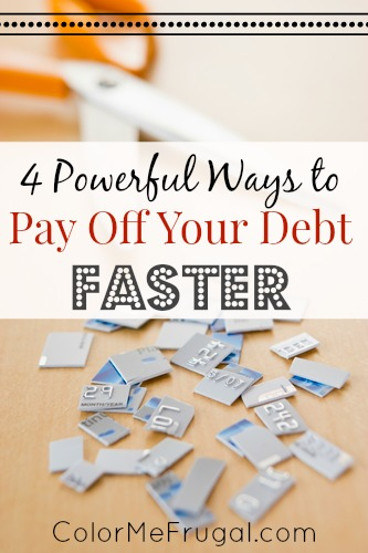 4 Powerful Ways to Pay Off Your Debt Faster