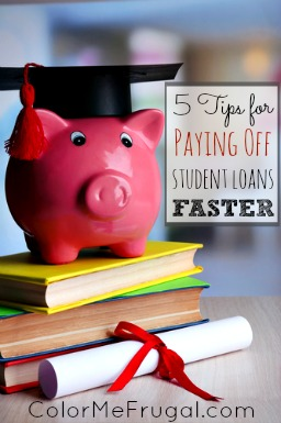 5 Tips for Paying Off Student Loans Faster