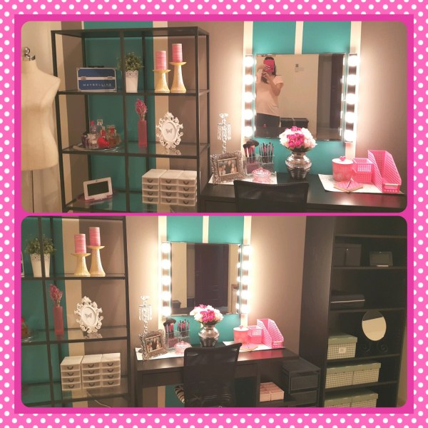 DIY Makeup Vanity Room