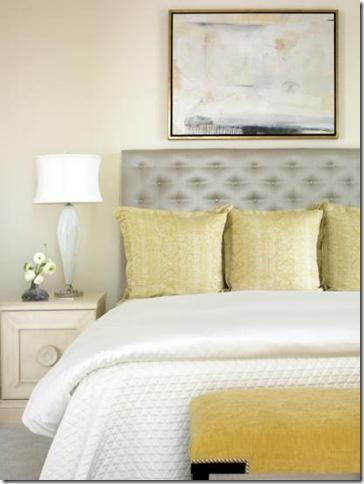 yellow and gray accent bedroom Color love: Yellow and Grey   Color Me Southern