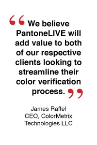 ColorMetrix and X-Rite partner for access to PantoneLIVE